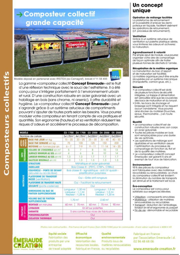 thumbnail of Composteur grande capacité